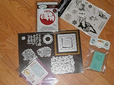 Assorted Dies + Others Cardmaking Clear Out