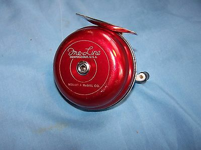 "EXCELLENT VINTAGE WRIGHT & McGILL ""FRE-LINE"" REEL, SIDEWINDER SPINNING"