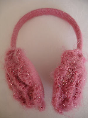 Girls' Pink Ear Muffs Approx Size 4-8 Years