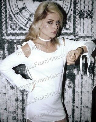 8x10 Print Debra Harry Blondie #DH6