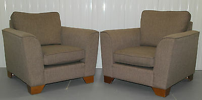 Pair Of Never Used Marks And Spencers Sonoma Armchairs Rrp £1400 Comfortable