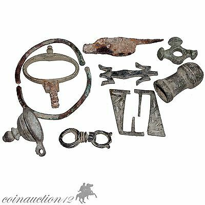Nice Group Of Ancient & Medieval Bronze Artifacts