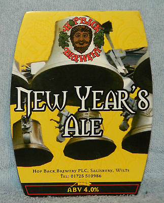 Hopback New Year's Ale Pump Clip Front