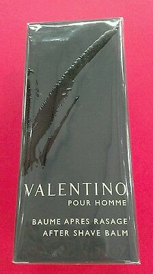 valentino v pour homme after shave balm 75ml