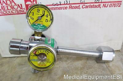 MADA Medical Oxygen Regulator 1333-5 Regulator Therapy for Storage Tank 0-5 LPM