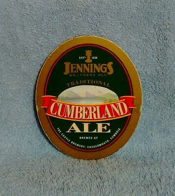 Jennings Cumberland Ale Pump Clip Front