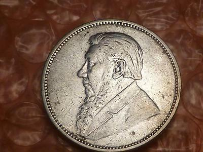 1896 South Africa ZAR  Silver 2 Shillings #2