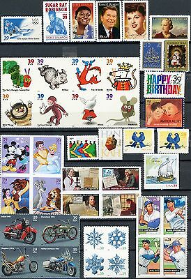 2006 Commemoratives 43 Different MNH US Postage Stamps See Listing for Scott #'s