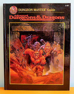 NEW AD&D Dungeon Master's Guide 2nd Edition - second cover