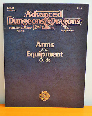 NEW AD&D Arms and Equipment Guide