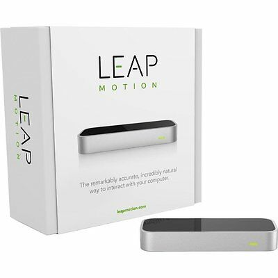 Leap Motion Controller Mac & PC Real 3D VR interaction with Packaging