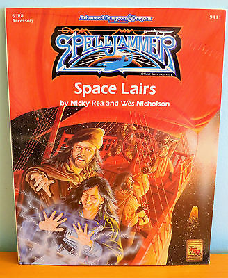 NEW AD&D Spelljammer Lairs - sealed - TSR