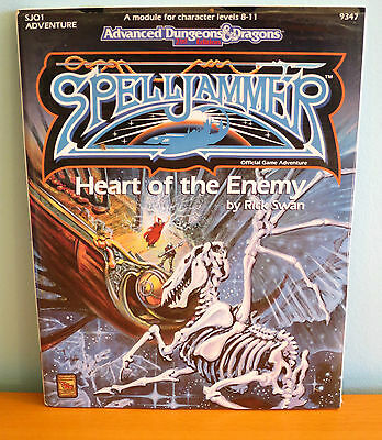 NEW AD&D Heart of the Enemy adventure - sealed - TSR