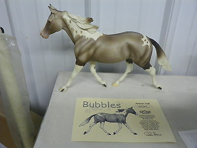 Peter Stone 2004 BUBBLES Champagne Tobiano Limited Edition Artist Sign  063/200
