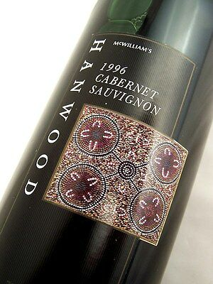 1996 McWILLIAMS Hanwood Cabernet Sauvignon Isle of Wine