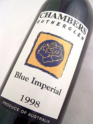 1998 CHAMBERS Rosewood Winery Blue Imperial Cinsault Isle of Wine