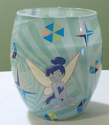 The Disney Store Blue Green Purple Tinkerbell Glow Candle New