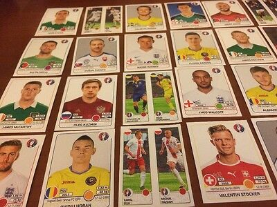 UEFA Euro 2016 30 Stickers Pack 6