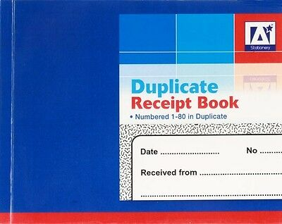 Receipt Duplicate Book