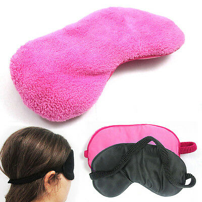 New Cotton Travel Sleeping Eye Shades Mask Cover with convenient New PB