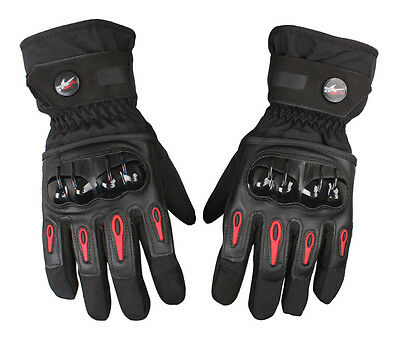 Pro-biker Windproof Waterproof Motorcycle Racing Winter Bicycle Warm Gloves NEW
