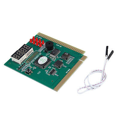 4-Digits Analysis Diagnostic Motherboard Tester Desktop PCI Express Card BS