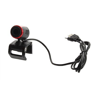 USB 2.0 Clip WebCam Web Camera w/ MIC Microphone for Laptop PC BS