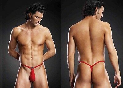 BLUE LINE Pouch G-String rot S/M |50