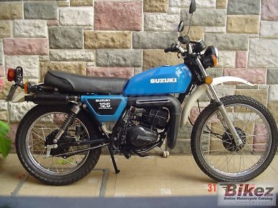 Workshop Manual Suzuki Ts 125 1978 Manual Taller  Dvd Repair Service English