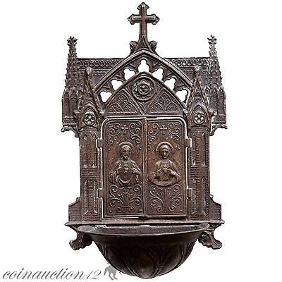 Superb Religious Christian Ae Oil Lamp Icon Applique Decoration Circa 1600 Ad