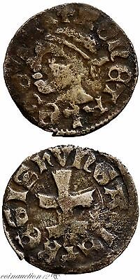 Early Medieval 1342-1382 Ad Hungary Silver Denar Louis I