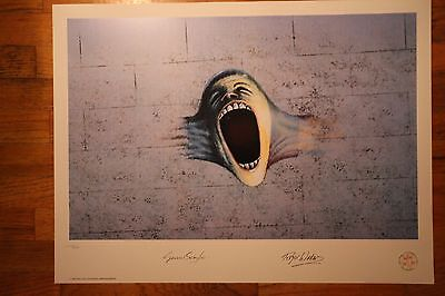 Pink Floyd SCREAM art print numbered ed THE WALL