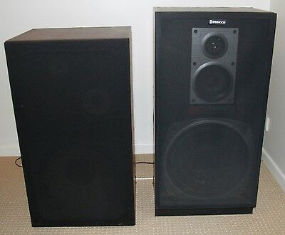 Unmatched Pair of 3-Way Speakers - TEAC & Sherwood