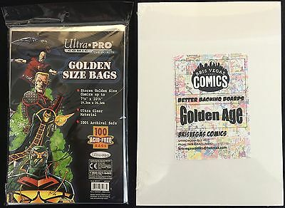 Comic Bag and Board Combo Golden Age. (Ultra Pro)