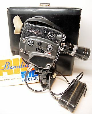 "CAMERA "" BEAULIEU R16  ELECTRIC  ""- Modèle "" SPECIAL ZOOM "" - 16 mm - 1965/68"