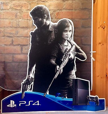 The Last Of Us Ps4 / Advertising Promo / Cardboard Cutout
