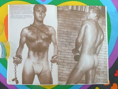 Gay Interest BODYBUILDING MALE NUDE PHOTO Physique Pictorial Vol 11 No 3 1962
