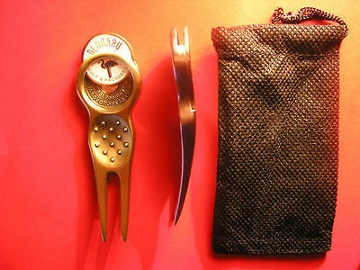 Golf Divot Tool (Excellant Quality) Plus 2 Markers (Handmade & A Collectable)