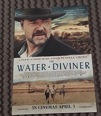 The Water Diviner Promotional Postcard : Russell Crowe