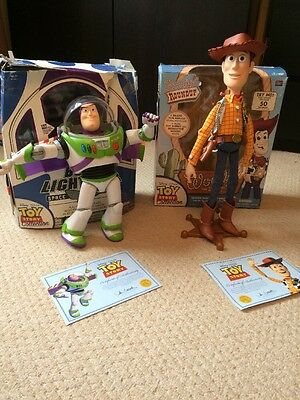 Thinkway Toys:Toy story Collection: Buzz Light year And Woody