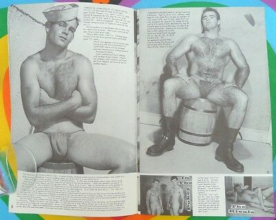 Gay Interest BODYBUILDING MALE NUDE PHOTO Physique Pictorial Vol 12 No 2 1962