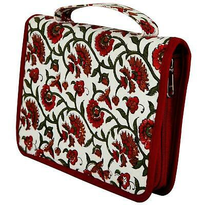 KnitPro Hand Block Printed Fixed Circular Knitting Needle Case