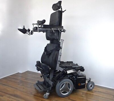 Permobil C400 standing wheelchair - LOADED model - with New Batteries