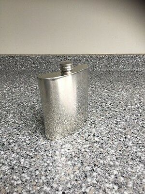 Vintage English Pewter Hip Flask, Made in Sheffield 145 grm VERY GOOD CONDITION