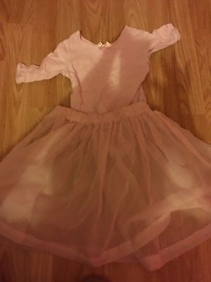 Pink Ballet Leotard and Skirt Pre Primary RAD