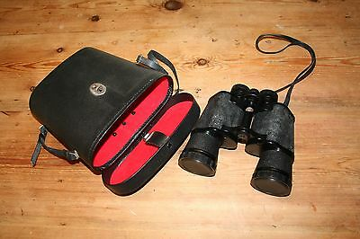 ~ Quality ~Vintage ~Large ~Carl Veitch ~Binoculars ~20 x50 with Case ~VGC~