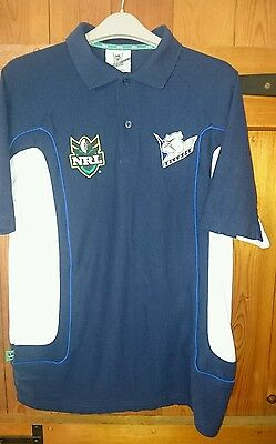 ISC NRL Bulldogs polo shirt size small