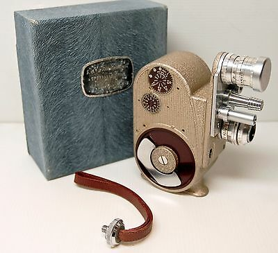 CAMERA BELL & HOWELL- 605 B DOUBLE RUN EIGHT -8 m/m - USA