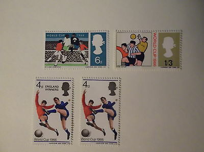 1966 World Cup Great british stamps, collectors, hobby ,home, dealers
