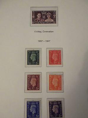 1937 Coronation  Great british stamps,Mint Condition collectors, hobby ,home,